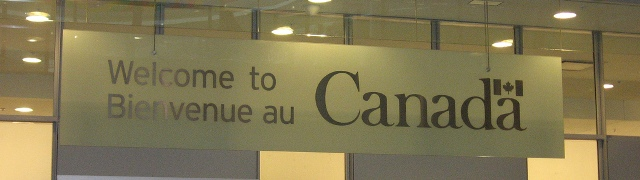 Welcome/Bienvenue au/to Canada