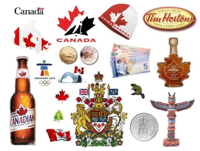 Canadian symbols and products