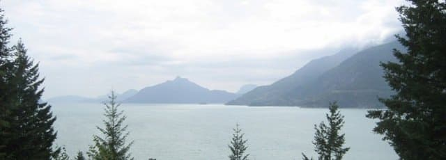 view from sea to sky highway